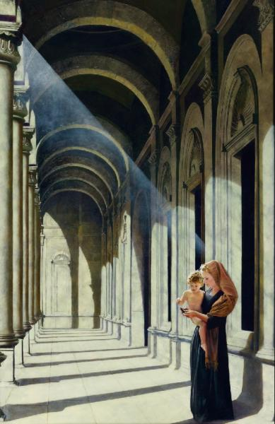 The Windows Of Heaven - 11 x 17 giclée on canvas (pre-mounted) by Al Young
