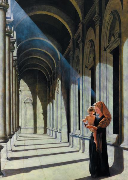 The Windows Of Heaven - 20 x 28 print by Al Young
