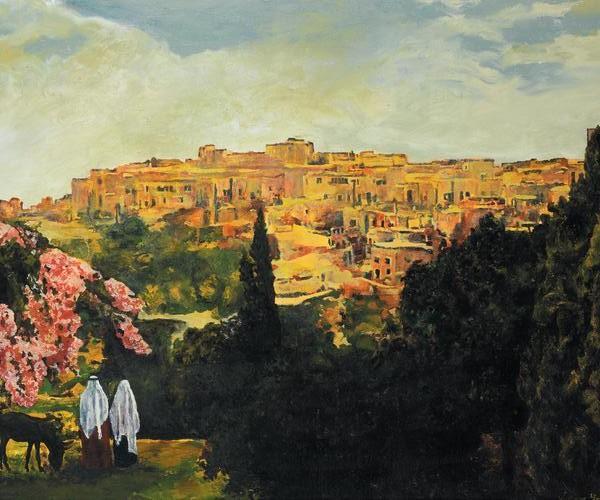 Unto The City Of David - 20 x 24 print by Ashton Young