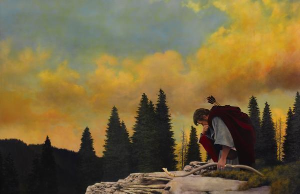 And My Soul Hungered - 11 x 17 giclée on canvas (pre-mounted) by Al Young