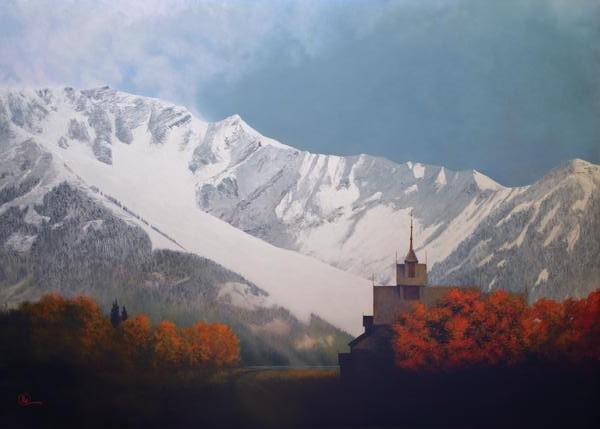 Den Kommende Vinteren - 20 x 28 print by Al Young