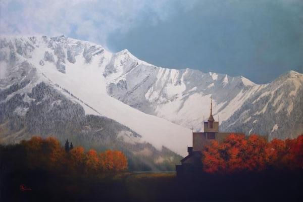 Den Kommende Vinteren - 20 x 30 print by Al Young