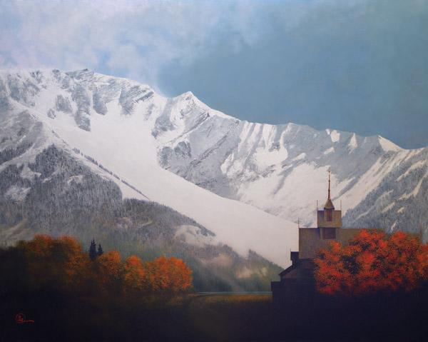 Den Kommende Vinteren - 8 x 10 giclée on canvas (pre-mounted) by Al Young