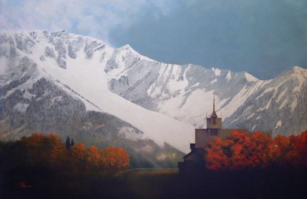 Den Kommende Vinteren - 11 x 17 giclée on canvas (pre-mounted) by Al Young