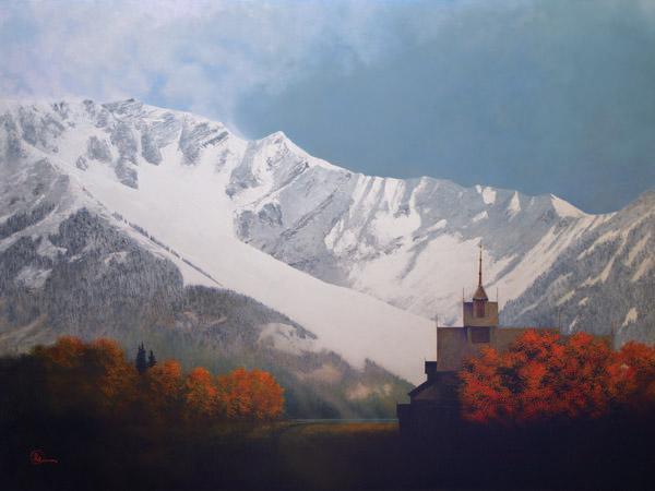 Den Kommende Vinteren - 12 x 16 giclée on canvas (pre-mounted) by Al Young