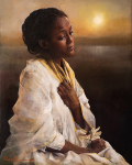 The Blessings Afar Off - 8 x 10 giclée on canvas (pre-mounted)