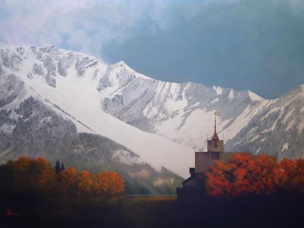 Den Kommende Vinteren - 18 x 24 print by Al Young