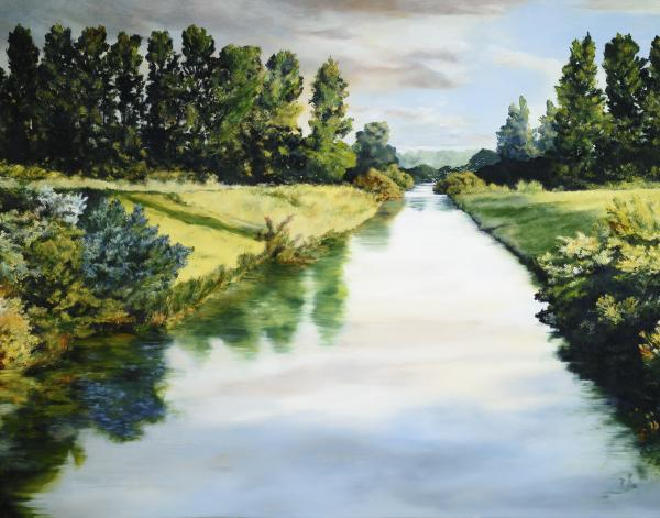Peace Like A River - 11 x 14 giclée on canvas (pre-mounted) by Ashton Young