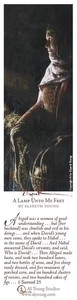 A Lamp Unto My Feet - Bookmark by Elspeth Young
