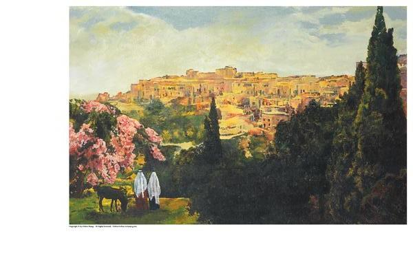 Unto The City Of David - 5.75 x 9 print by Ashton Young