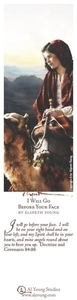 I Will Go Before Your Face - Bookmark by Elspeth Young