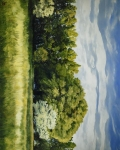 Green And Pleasant Land - 16 x 20 giclée on canvas (pre-mounted)