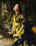 God Liveth And Seeth Me - 24 x 30 giclée on canvas (unmounted)