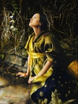 God Liveth And Seeth Me - 18 x 24 giclée on canvas (pre-mounted)