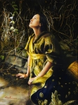 God Liveth And Seeth Me - 18 x 24.25 giclée on canvas (unmounted)