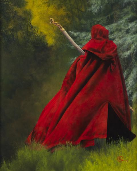 And I Will Not Deny The Christ - 16 x 20 giclée on canvas (pre-mounted) by Al Young