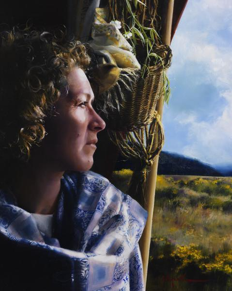 The Struggle Within - 16 x 20 giclée on canvas (pre-mounted) by Elspeth Young