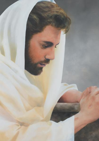 We Heard Him Pray For Us - 14 x 20 print by Al Young