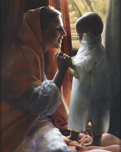 For This Child I Prayed - 16 x 20 giclée on canvas (pre-mounted) by Elspeth Young