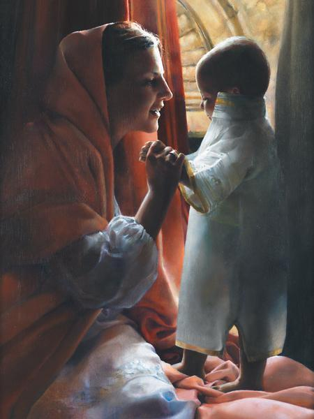 For This Child I Prayed - 12 x 16 print by Elspeth Young