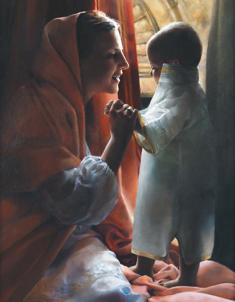 For This Child I Prayed - 14 x 18 print by Elspeth Young