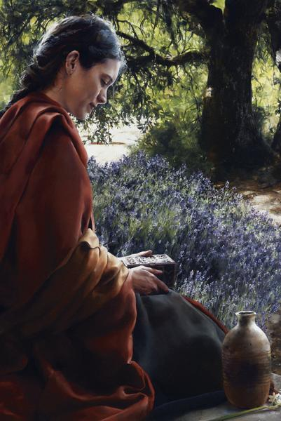 She Is Come Aforehand - 24 x 36 giclée on canvas (unmounted) by Elspeth Young