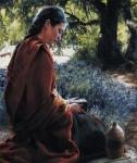 She Is Come Aforehand - 12 x 14.25 print