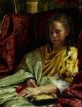 Upon Awakening - 14 x 18 giclée on canvas (pre-mounted)