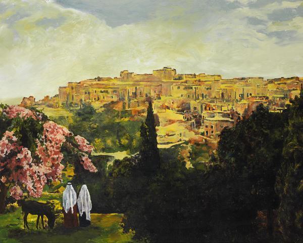 Unto The City Of David - 16 x 20 giclée on canvas (pre-mounted) by Ashton Young