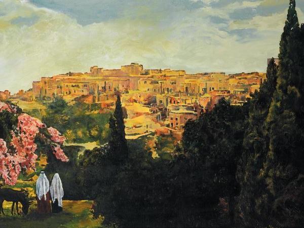 Unto The City Of David - 18 x 24 print by Ashton Young