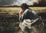 As A Sparrow Alone - 20 x 28 giclée on canvas (unmounted)