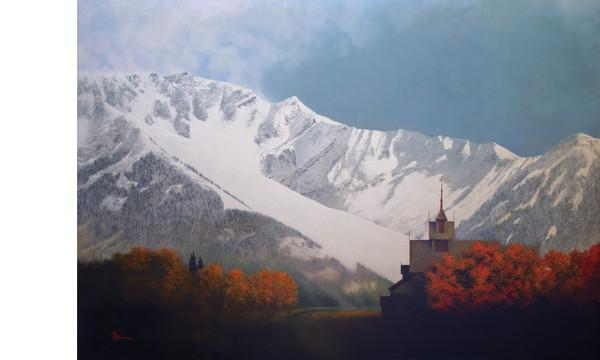 Den Kommende Vinteren - 12 x 17.5 print by Al Young