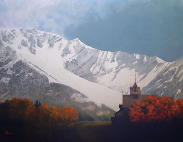 Den Kommende Vinteren - 14 x 18 print by Al Young