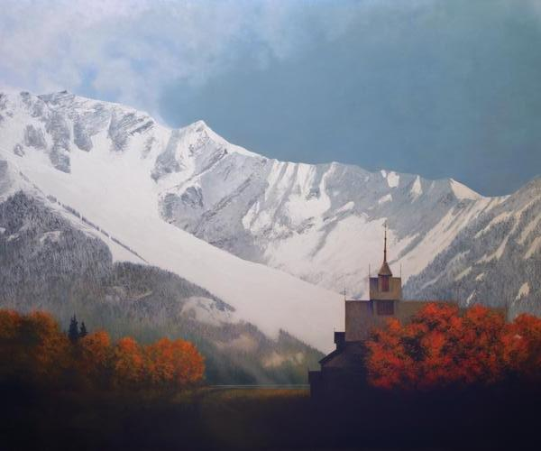 Den Kommende Vinteren - 20 x 24 print by Al Young