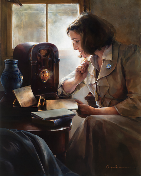 Brightness Of Hope - 16 x 20 giclée on canvas (pre-mounted) by Elspeth Young