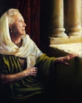 Blessed Is She That Believed - 24 x 30 giclée on canvas (unmounted)