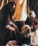 The Daughters Of Zelophehad - 20 x 24 print
