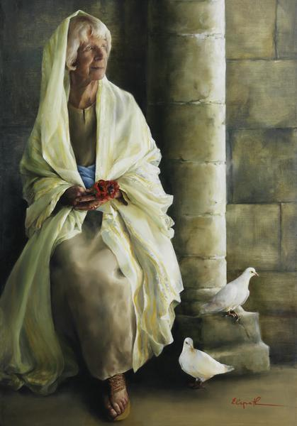 The Substance Of Hope - 14 x 20 giclée on canvas (pre-mounted) by Elspeth Young