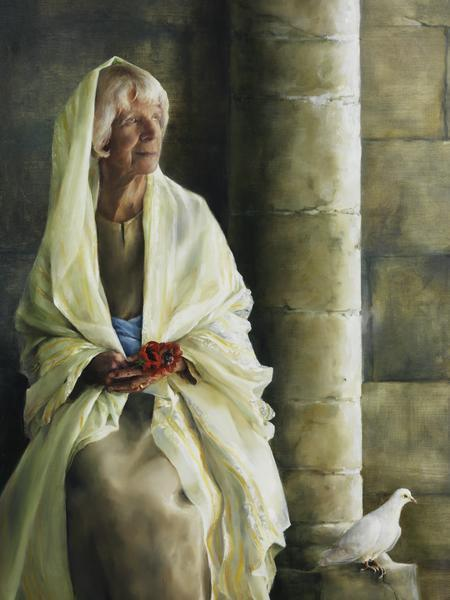 The Substance Of Hope - 18 x 24 giclée on canvas (pre-mounted) by Elspeth Young