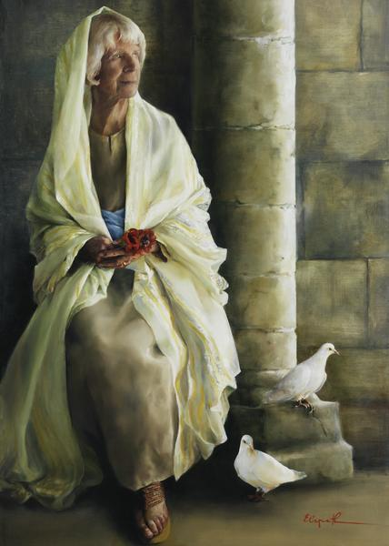 The Substance Of Hope - 20 x 28 giclée on canvas (unmounted) by Elspeth Young