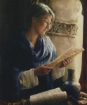 Treasure The Word - 20 x 24 giclée on canvas (unmounted)