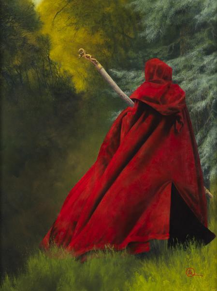 And I Will Not Deny The Christ - 12 x 16 giclée on canvas (pre-mounted) by Al Young