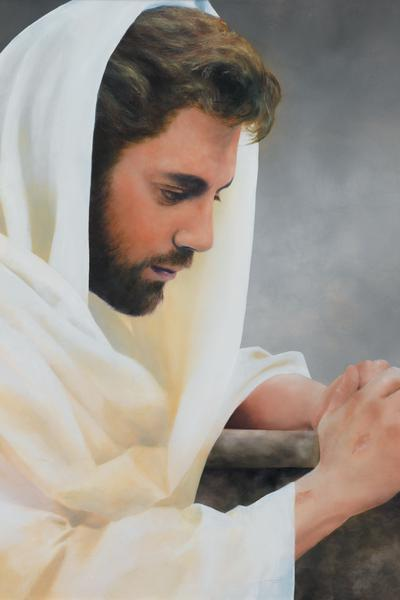 We Heard Him Pray For Us - 20 x 30 print by Al Young