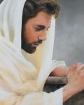 We Heard Him Pray For Us - 24 x 30 print