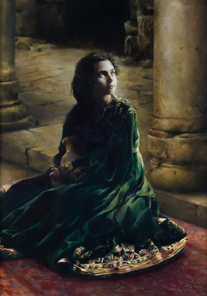 According To Thy Word - 14 x 20 giclée on canvas (pre-mounted) by Elspeth Young