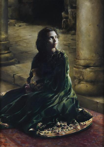 According To Thy Word - 20.25 x 28.75 giclée on canvas (unmounted) by Elspeth Young