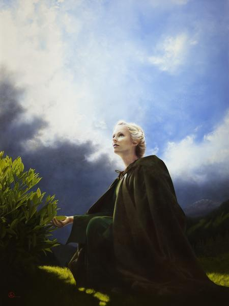 The Mother Of All Living - 30 x 40 giclée on canvas (unmounted) by Al Young
