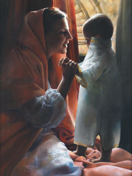 For This Child I Prayed - 18 x 24 print by Elspeth Young