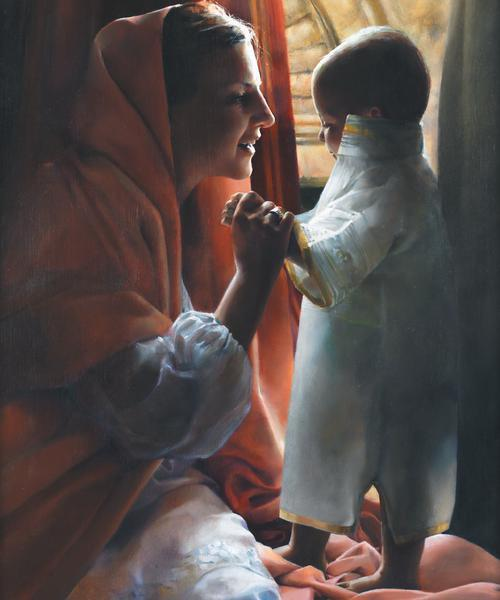 For This Child I Prayed - 20 x 24 print by Elspeth Young