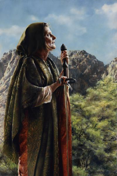 I Arose A Mother In Israel - 24 x 36 giclée on canvas (unmounted) by Elspeth Young